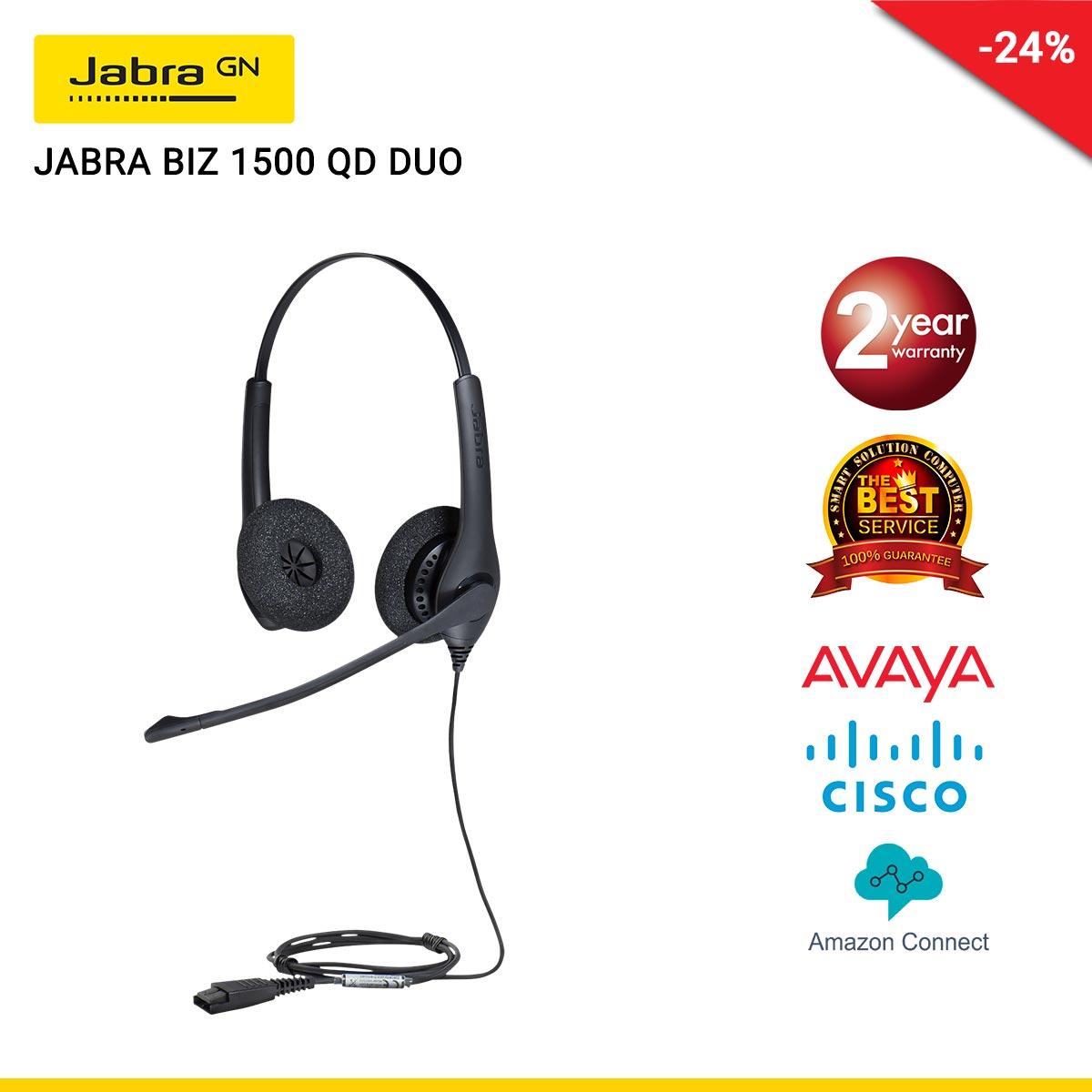 JABRA BIZ 1500 QD DUO (JBA-1519-0157)