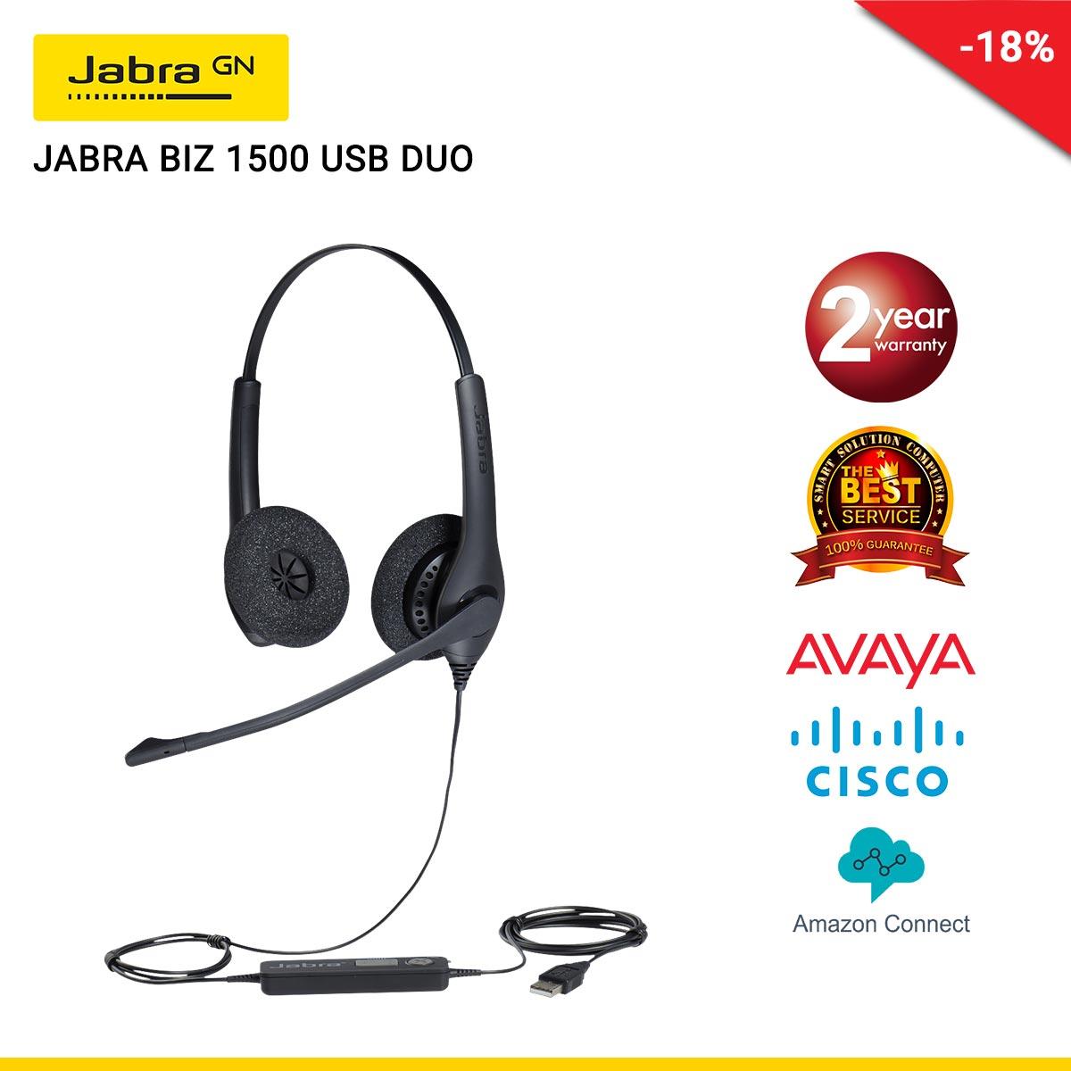JABRA BIZ 1500 USB DUO (JBA-1559-0159)