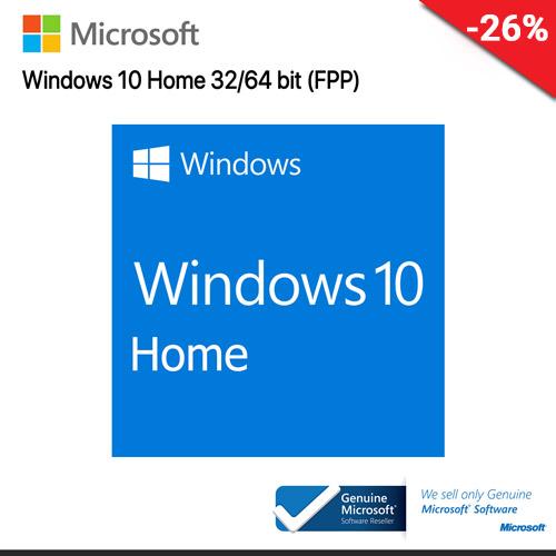 Microsoft Windows 10 Home (KW9-00017) 32/64 Bit ENG Intl USB (FPP)