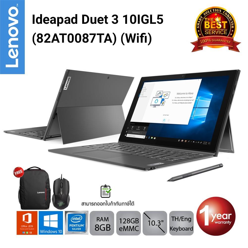 Lenovo Ideapad Duet 3 10IGL5 (Wifi) (82AT0087TA) Pentium N5030/8GB/128GB EMMC/10.3/Win10+Office