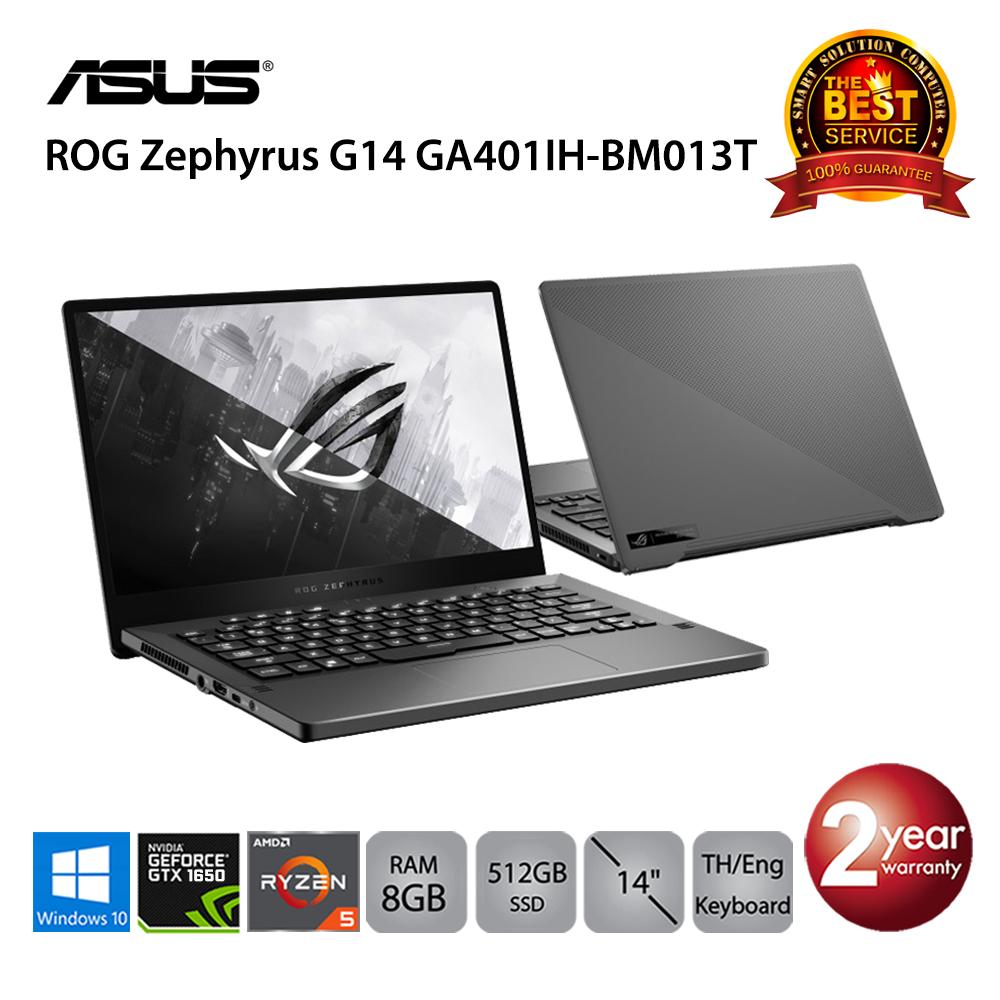 Asus ROG Zephyrus G14 GA401IH-BM013T AMD Ryzen5/8GB/512GB SSD/GTX1650/14.0/Win10 (Eclipse Gray)