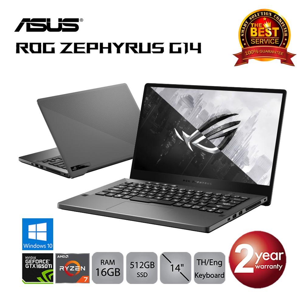 Asus ROG Zephyrus G14 GA401II-HE003T Ryzen7/16GB/512GBSSD/GTX1650Ti/14.0/Win10 (Eclipse Gray)