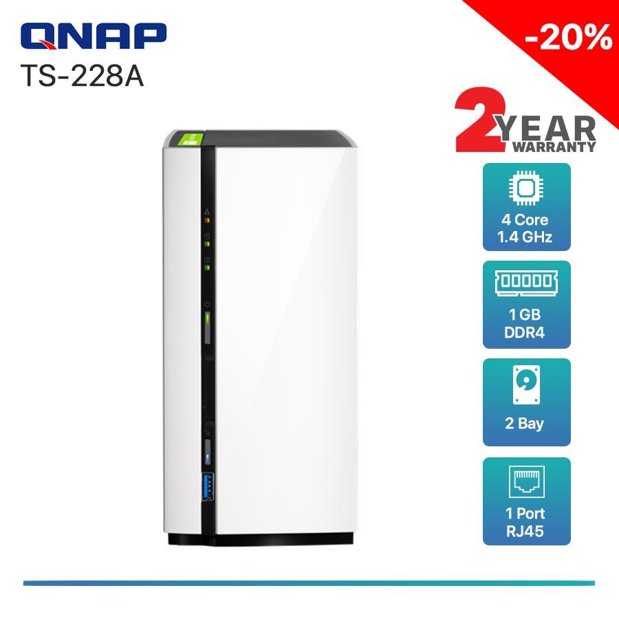 QNAP TS-228A 2-bay NAS