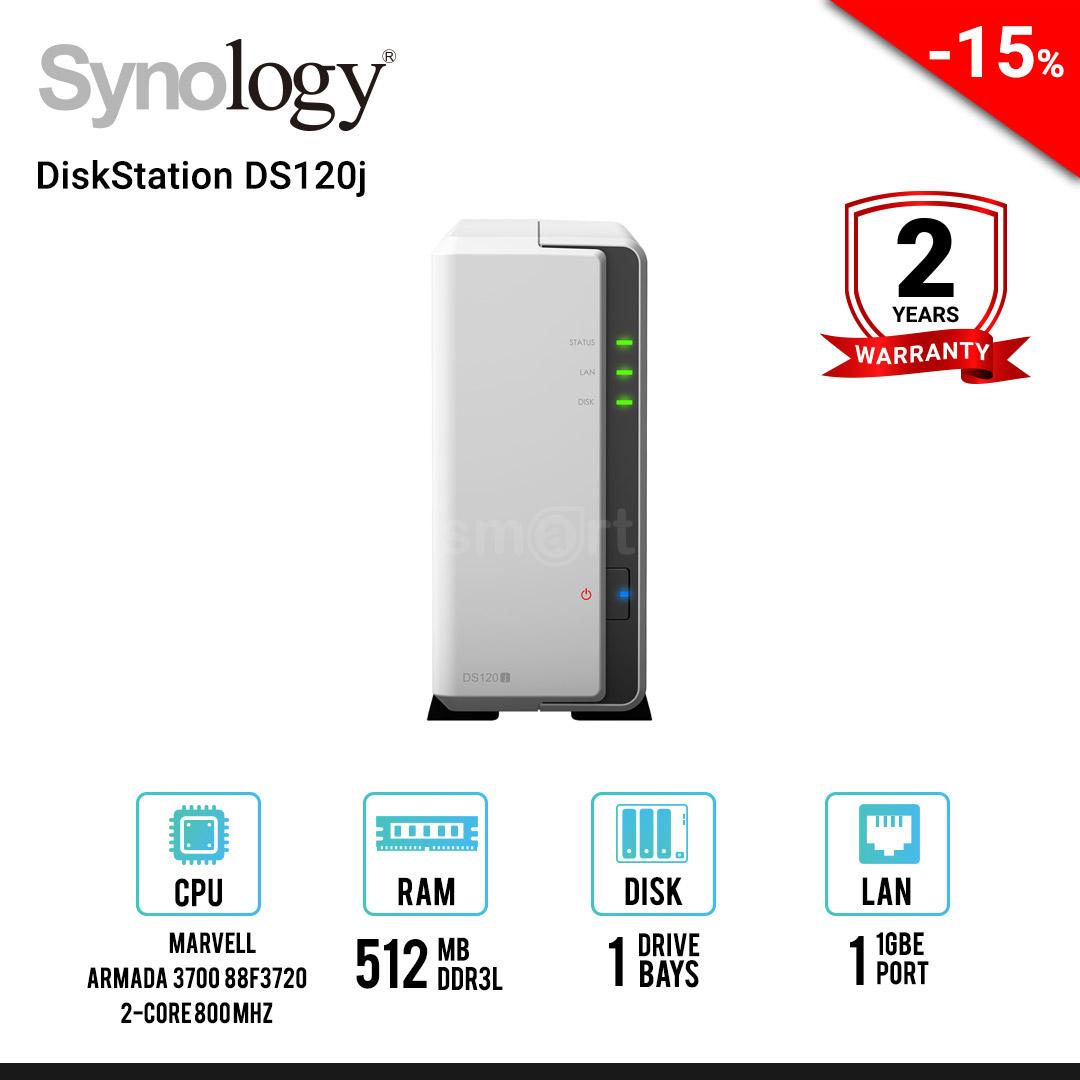 Synology DiskStation DS120j 1-Bay NAS
