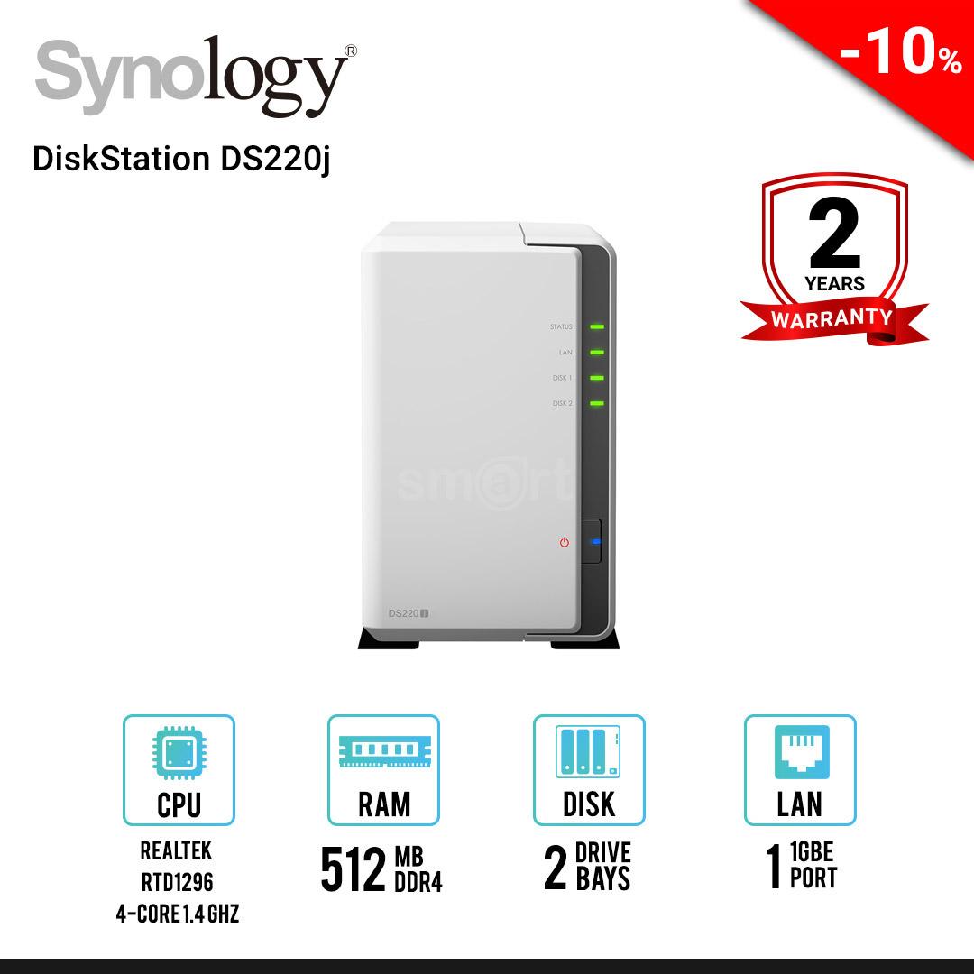 Synology DiskStation DS220j 2-Bays NAS