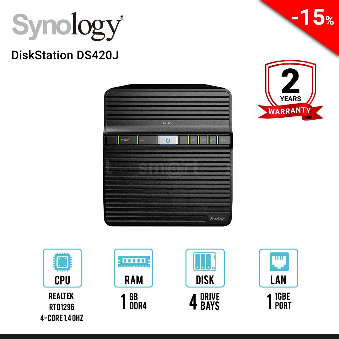 Synology DiskStation DS420J 4-bay NAS