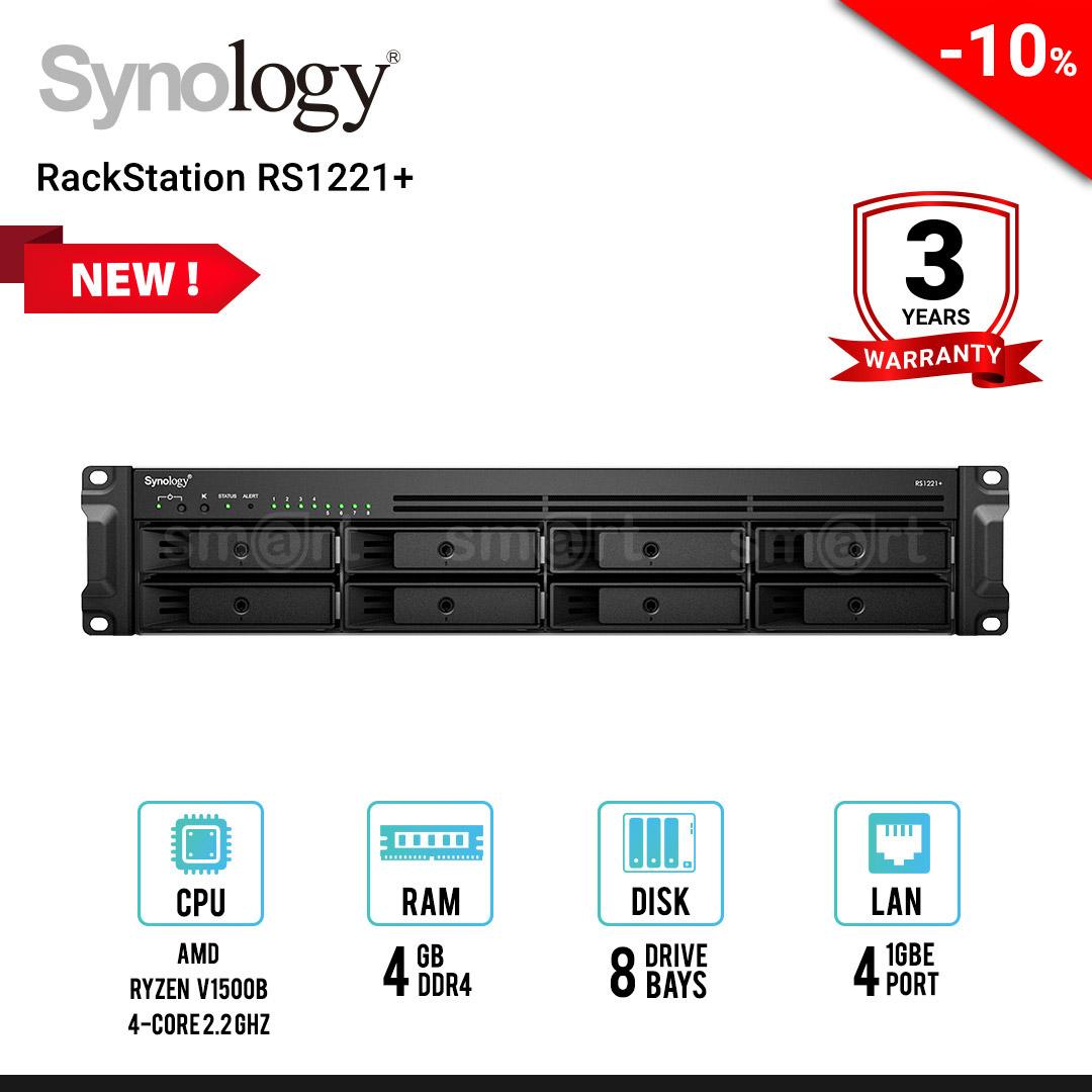 Synology RackStation RS1221+ 8-Bay NAS
