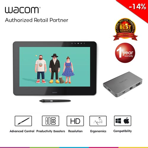 Wacom Cintiq Pro 16 with Wacom Link Plus (DTH-1620/AK2-CX)