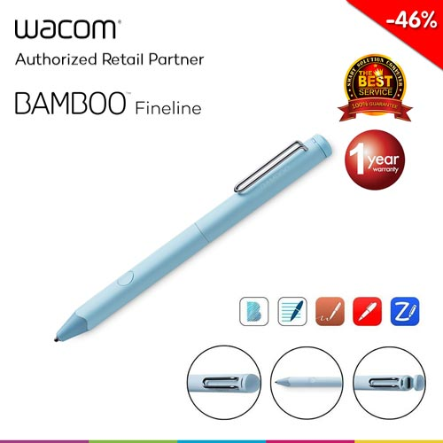 Wacom Bamboo Fineline 3 (CS-610C/M0-CX) - Light Blue