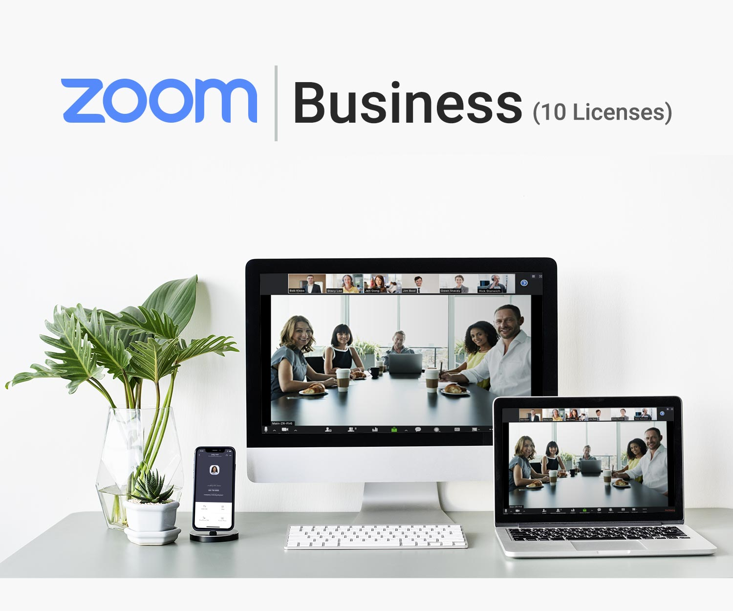 Zoom Business 10 Licenses