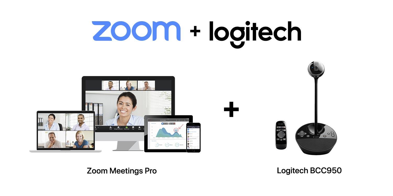 SET A : Logitech BCC950 + Zoom Meetings Pro