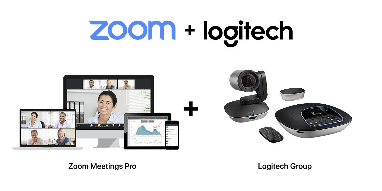 SET D : Logitech Group + Zoom Meetings Pro
