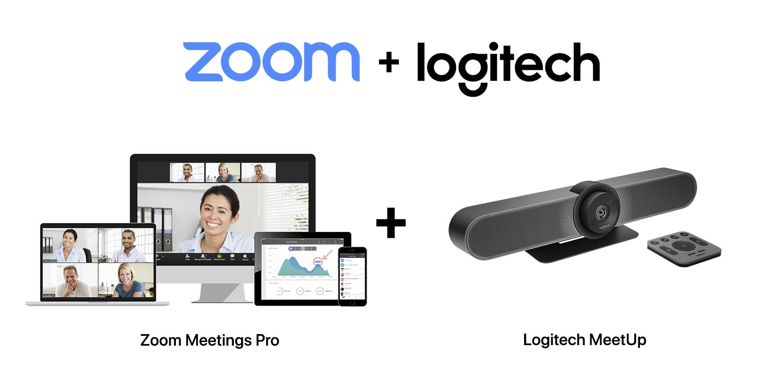 SET C : Logitech MeetUp + Zoom Meetings Pro