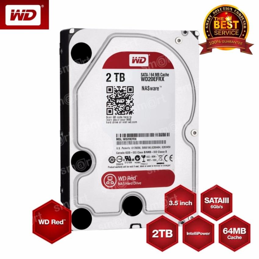 WD HD Caviar Red NAS 2TB WD20EFRX SATA3 3.5