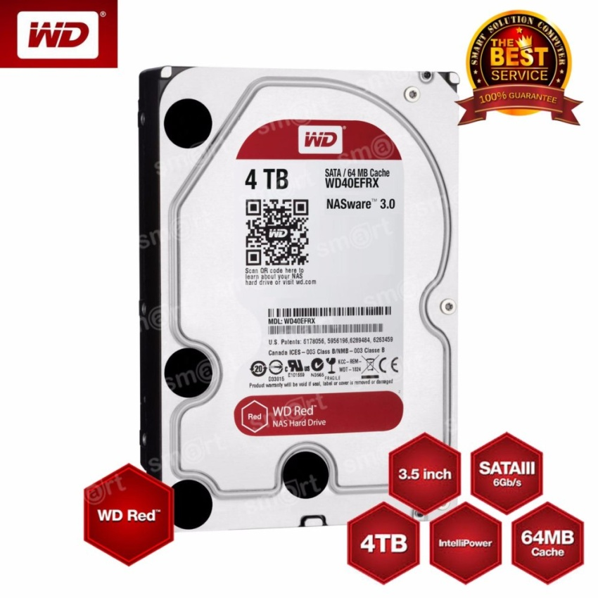 WD HD Caviar Red NAS 4TB WD40EFRX SATA3 3.5